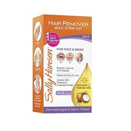 Sally Hansen Hair Remover Wax Strip Kit